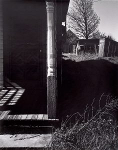Wright Morris, View of Porch with Side Yard, Ed's Place, Near Norfolk, Nebraska, 1947