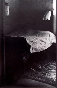 Wright Morris, Bedroom, Shoes on Floor, Ed's Place, Near Norfolk, Nebraska, 1947