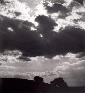 Wright Morris, Clouds, Claremont, California, 1935