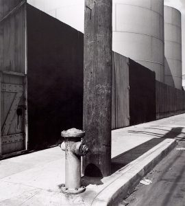 Wright Morris, Hydrant and Gas Tanks, Los Angeles, California, ca. 1936