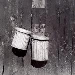 Wright Morris, Garbage Pails, Pomona, California, 1936