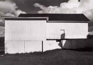 Wright Morris, White Barn, Connecticut, 1940