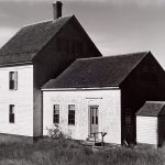 Wright Morris, House Near Wellfleet, Cape Cod, Massachusetts, 1939, silver print, 1975