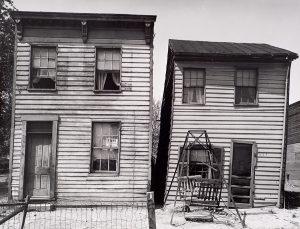 Wright Morris, Slum Buildings, Washington, D.C., 1940, silver print, 1975