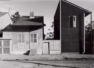 Wright Morris, Houses, New Orleans, Lousiana, 1940, silver print, 1975