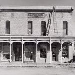 Wright Morris, General Store 1900, Ohio, 1942, silver print, 1975