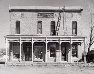 Wright Morris, General Store 1900, Ohio, 1942, silver print, 1975