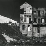 Wright Morris, Houses, Rear View, Virginia City, Nevada, 1941, silver print, 1975