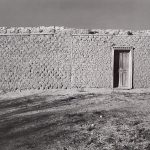 Wright Morris, Adobe Ranch House, New Mexico, 1940, silver print, 1975
