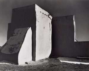 Wright Morris, Adobe Church, Ranchos de Taos, New Mexico, 1940