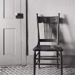 Wright Morris, Straight Back Chair, The Home Place, Near Norfolk, Nebraska, 1947, silver print, 1975