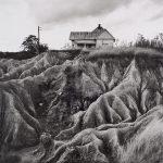 Wright Morris, Eroded Soil, (Faulkner Country), Near Oxford, Mississippi, 1940 silver print, 1975