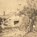 Grant Reynard, On the Wilton Road, etching, n.d.