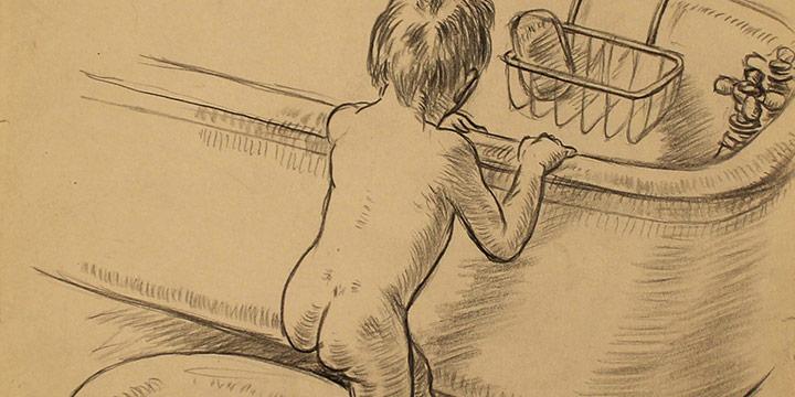 Grant Reynard, The Bath etching (?/100), n.d.