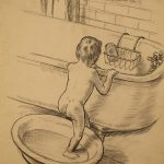 Grant Reynard, The Bath, etching (?/100), n.d.