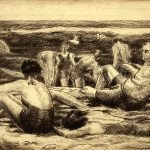 Grant Reynard, The Beach, etching, c.1936