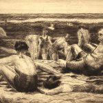 Grant Reynard, The Beach, etching, n.d.