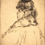 Grant Reynard, An Old Lady #1, etching, n.d.
