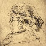 Grant Reynard, An Old Lady #2, etching, n.d.