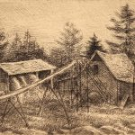 Grant Reynard, The Ice House, etching, n.d.