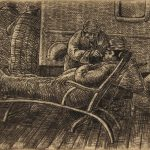 Grant Reynard, A Rough Crossing, etching, n.d.