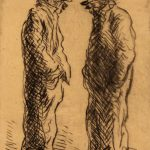 Grant Reynard, Bowery Pair, etching, n.d.