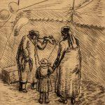 Grant Reynard, Circus Tent, etching, n.d.