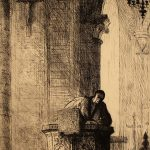 Grant Reynard, The Sermon, etching (trial proof), n.d.