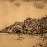 Grant Reynard, Cornwall Landing, etching (2/75), n.d.