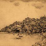 Grant Reynard, Cornwall Landing, etching (4/75), n.d.