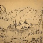 Grant Reynard, Bear in the Rockies (sketch), n.d.
