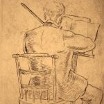 Grant Reynard, The Violinist, etching, 1st state, n.d.