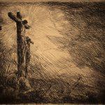 Grant Reynard, Crucifixion, etching, n.d.