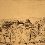 Grant Reynard, From the Lodge (MacDowell Colony, Peterborough, New Hampshire), etching (1st state), n.d.