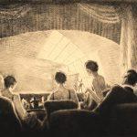 Grant Reynard, A Modern Opera at the Metropolitan Opera, etching, n.d.