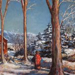 Grant Reynard, A Winters Walk, n.d.