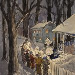 Grant Reynard, The Carolers, n.d.