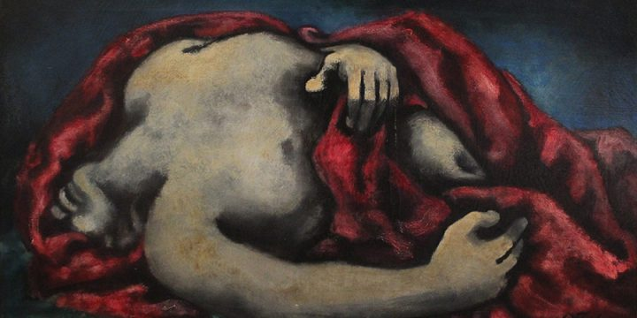 Emery Abraham (Donald) Forbes, Death of Adonis, oil, 1935