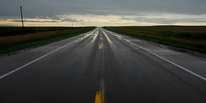 Derrick Burbul, Highway 26 near Ogallala, NE, 8.6.2007, C-print, 2007