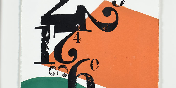 Richard Schuessler, #02, Screen Print and Letterpress, 2004