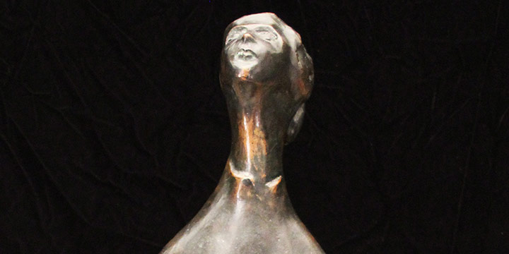 Gary Coulter, Woman, bronze, 1962