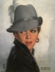 Joyce Ballantyne, Cheri, oil, c. 1980, Loan from a Private Collection