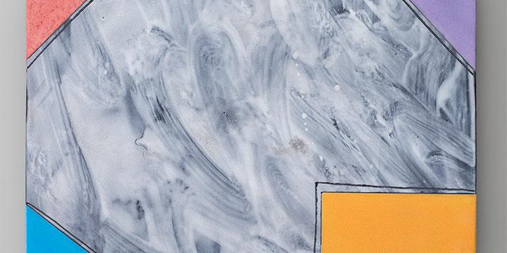 Jun Kaneko, Untitled, glazed raku ceramic, 2015, 24½ × 30½ × ½