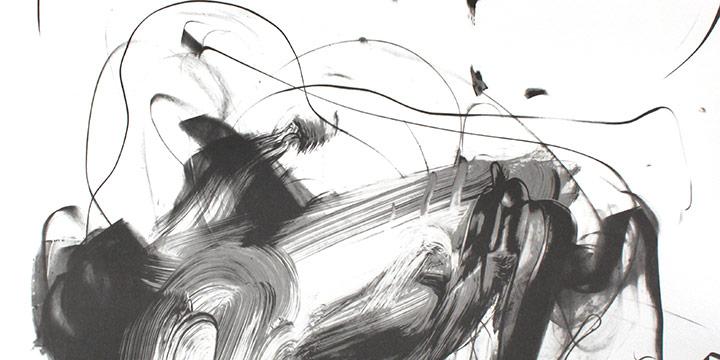 """Terry Rosenberg, Anya, lithograph (51/75), 1994, 42½ × 30"""""""