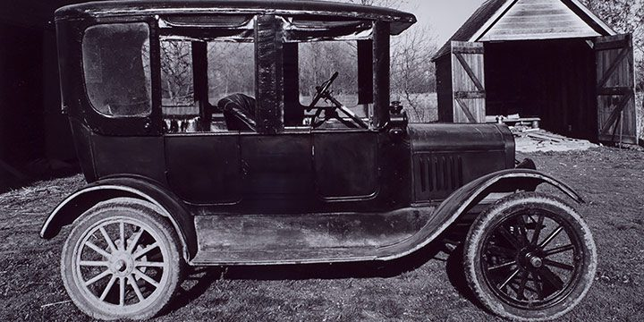 Wright Morris: A House, A Car, A Room