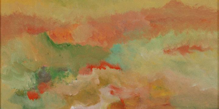 Larry Peterson, Summer Western Sky, Acrylic, n.d.