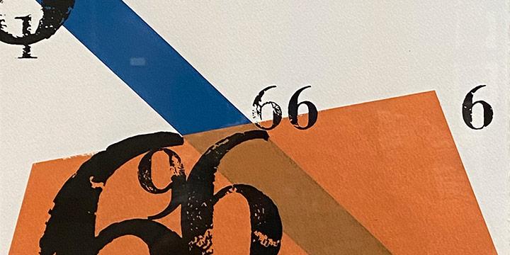 Richard Schuessler, #6, screen print on paper, 2004
